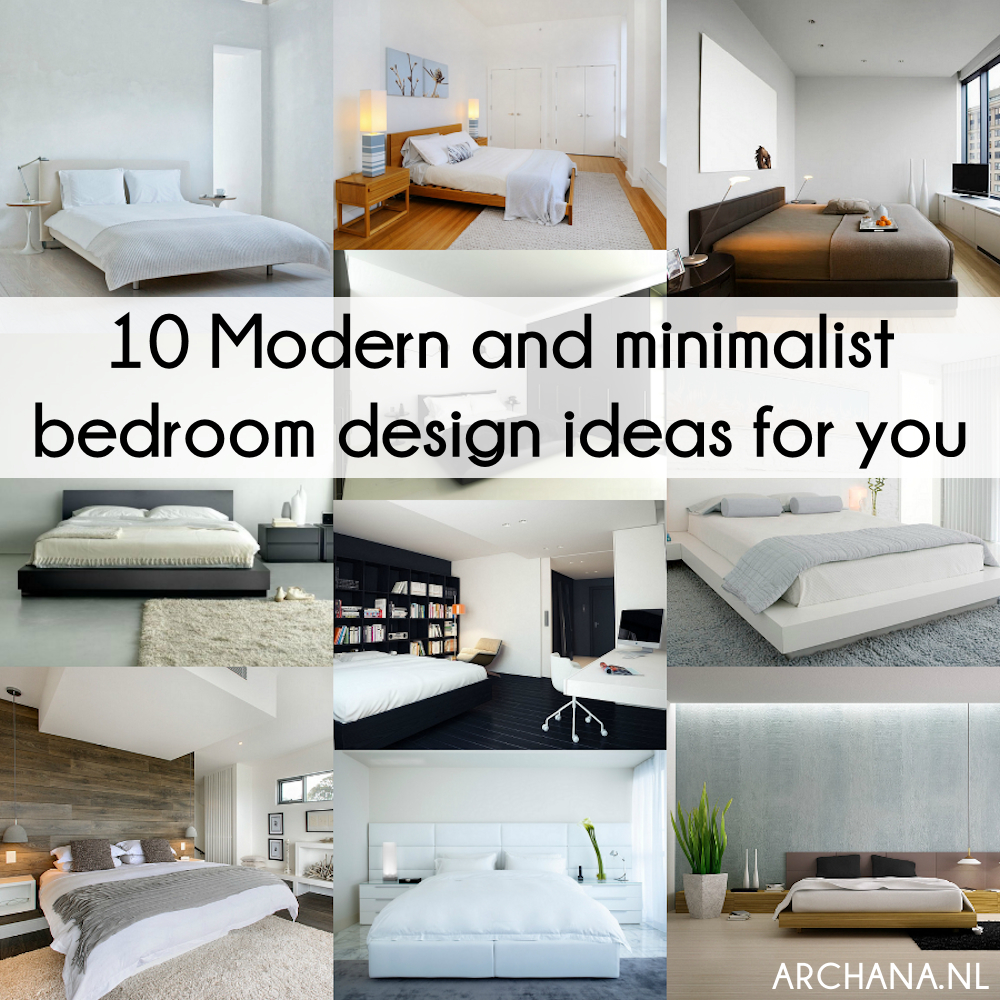 10 Tremendously Designed Bedroom Ideas In Shades Of Blue: 10 Modern And Minimalist Bedroom Design Ideas For You
