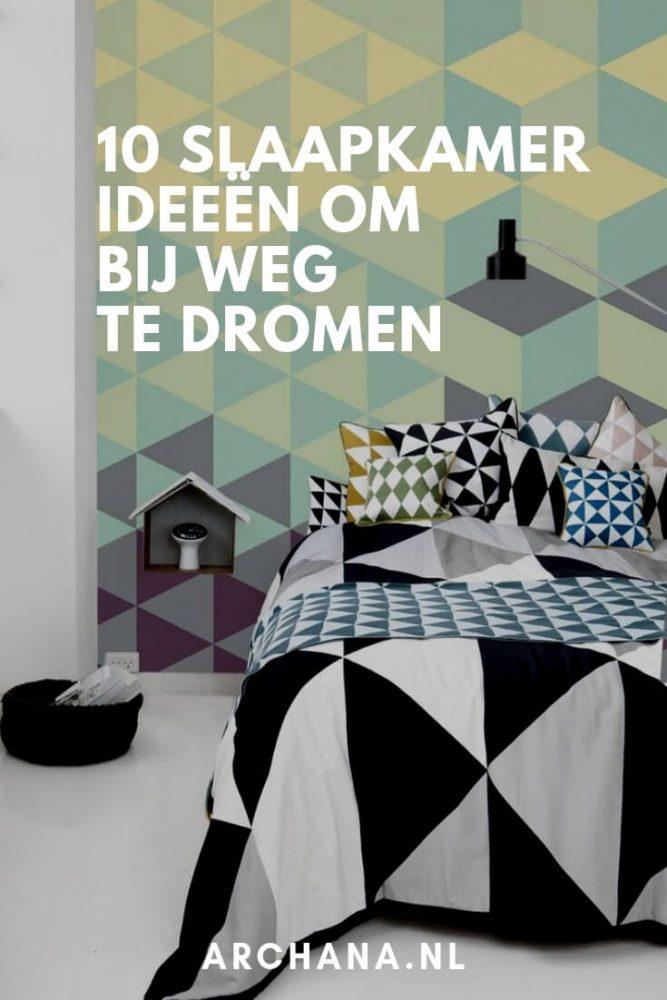 10 slaapkamer ideeën om bij weg te dromen | slaapkamer ideeen | slaapkamer interieur | ARCHANA.NL #slaapkamers #bedroomideas