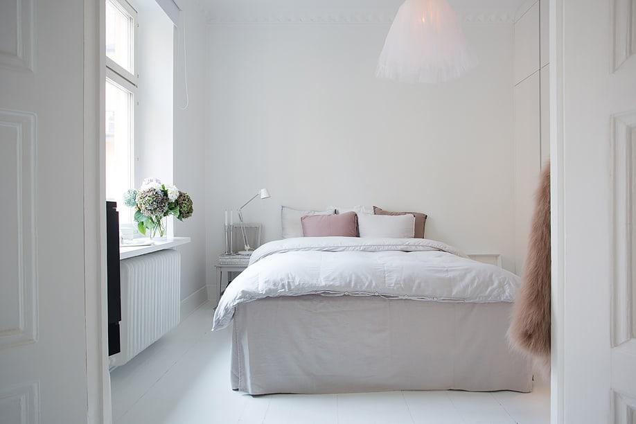 10 ideeën voor een slaapkamer met wit, roze en grijs | ARCHANA.NL #slaapkamers #bedrooms