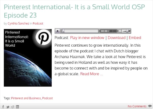 Podcast about Pinterest in The Netherlands: Interview with Archana Haarnack - ARCHANA.NL | podcast pinterest #pinterestmarketing #pinteresttips