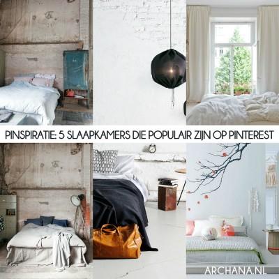 PINSPIRATIE 5 slaapkamers die populair zijn op Pinterest | www.archana.nl