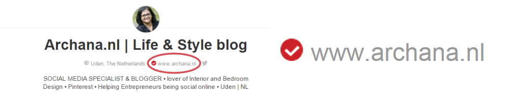Je website verifiëren op Pinterest | Pinterest tips om je online zichtbaarheid te vergroten | ARCHANA.NL #pinteresttips #pinterestmarketing