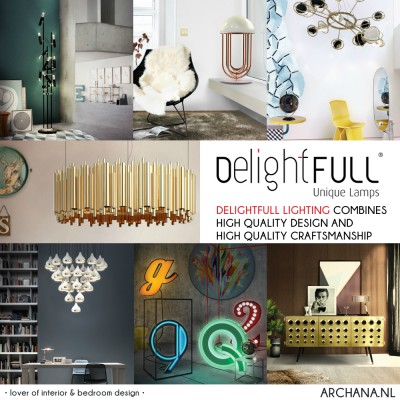DESIGN: Delightfull lighting combines high quality design and craftsmanship