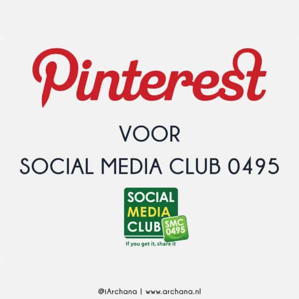 Pinterest presentatie voor SMC0495 | www.archana.nl