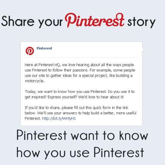 Share your Pinterest story | www.archana.nl