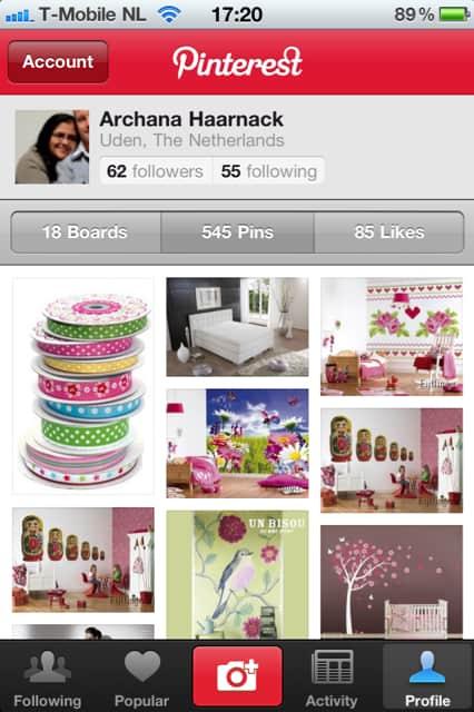 PINTEREST: Pinterest iPhone app nu verkrijgbaar | www.archana.nl