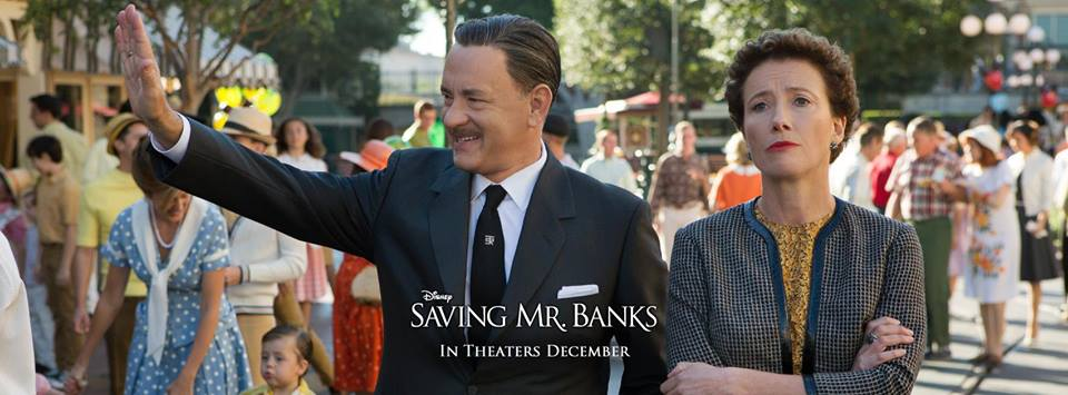 Disney's Saving Mr. Banks with Tom Hanks and Emma Thompson | www.archana.nl