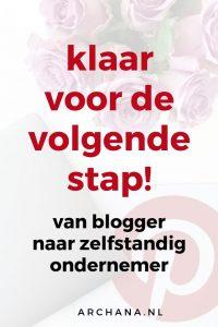 Klaar voor de volgende stap! | ARCHANA.NL