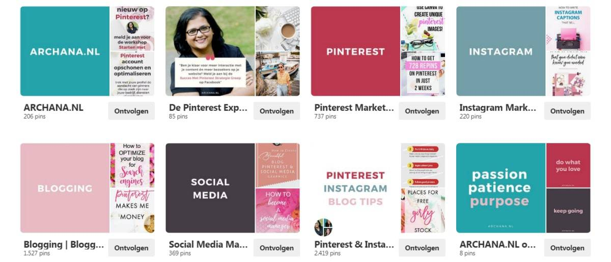 Nieuw op Pinterest? Begin hier. Startersgids voor beginners | Pinterest Nederland | ARCHANA.NL #pinteresttips #pinterestmarketing