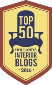 ARCHANA.NL in de Top 50 meest Inspirerende Interieurblogs van 2016 | ARCHANA.NL