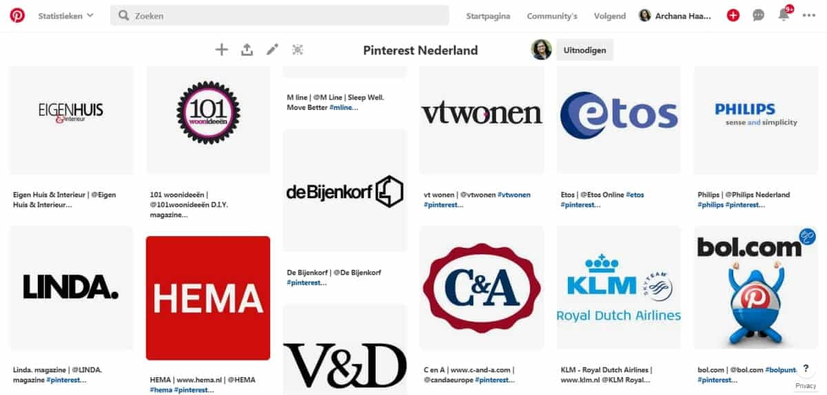 Nederlandse merken op Pinterest. Pinterest Nederland - ARCHANA.NL #pinterest #pinterestnederland