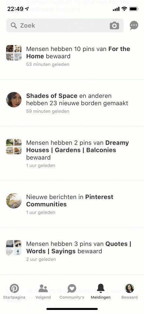 Pinterest app 2019 - Pinterest Nederland - ARCHANA.NL #pinterest #pinterestnederland