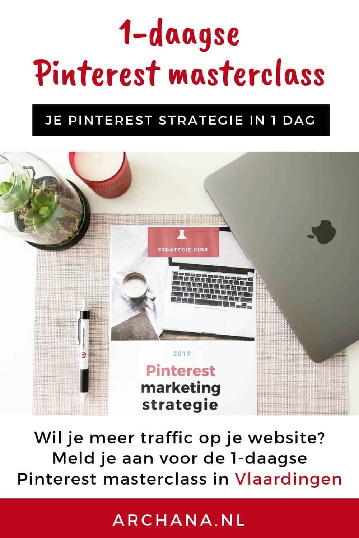 1-daagse Pinterest masterclass met Pinterest expert Archana op een leuke locatie in Vlaardingen | ARCHANA.NL #pinteresttraining #pinterestmarketing