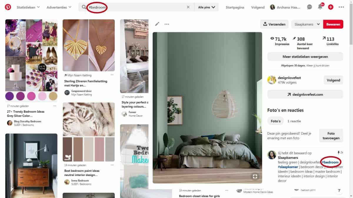 Zoekresultaat met hashtags | Hashtags op Pinterest: Dit is wat je moet weten - ARCHANA.NL #pinterestmarketing #pinteresttips