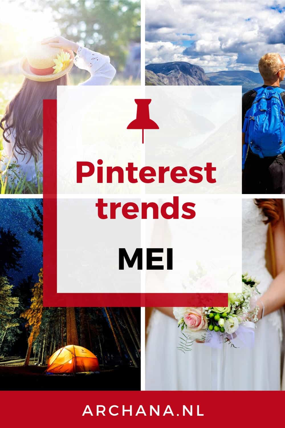 Pinterest trends voor mei: Wat ga je pinnen in mei - ARCHANA.NL #pinterestmarketing #pinteresttips