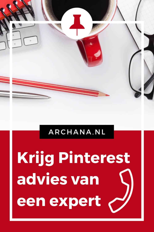 Hulp nodig bij het bepalen van je Pinterest strategie? Krijg hulp van Pinterest Expert Archana Haarnack - ARCHANA.NL #pinterestmarketing #pinterest