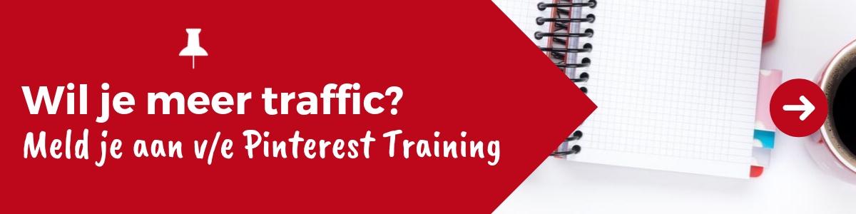 Wil je meer traffic op je website of in de winkel? Meld je aan voor een Pinterest Training en krijg expert tips van Pinterest Expert Archana Haarnack - ARCHANA.NL #pinteresttraining #pinterestmarketing