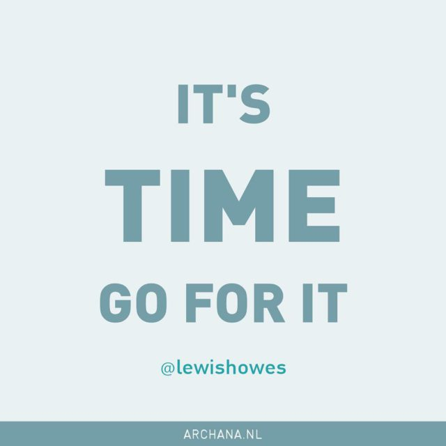 Its time Go for it!  Lewis Howes  lewishoweshellip