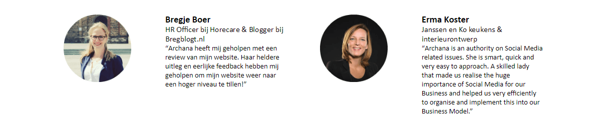 Aanbevelingen voor Archana Haarnack | ARCHANA.NL