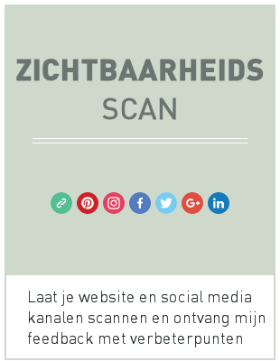 Zichtbaarheids Scan door Archana Haarnack   Laat je website en social media kanalen scannen en ontvang mijn feedback met verbeterpunten   ARCHANA.NL