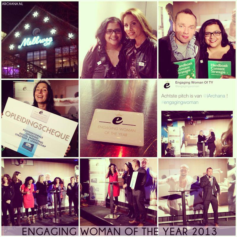 Archana Haarnack als top 10 finalist bij Engaging Woman of the Year 2013   www.archana.nl