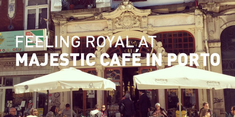 TRAVEL: Feeling royal at Majestic Café in Porto, Portugal | www.archana.nl